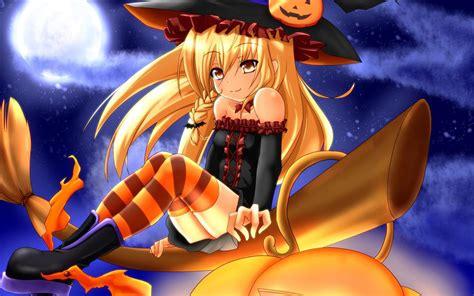 anime girl halloween wallpaper free holiday wallpapers anime halloween wallpapers