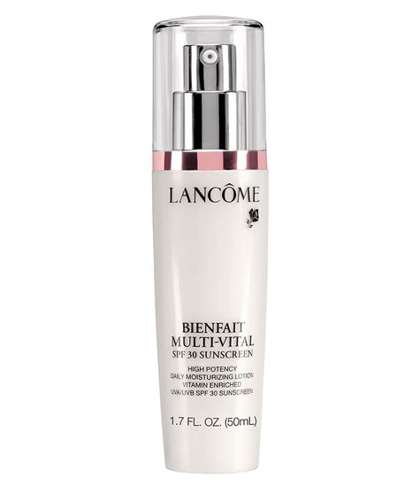 Sunscreen Lancome lancome bienfait multi vital spf 30 lotion high potency