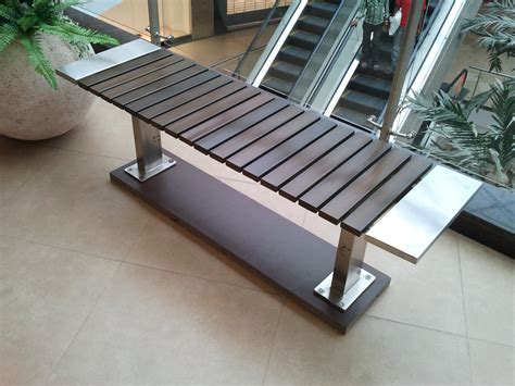Metal Picnic Bench by Mall Furniture 171 Saflow Products Pvt Ltd