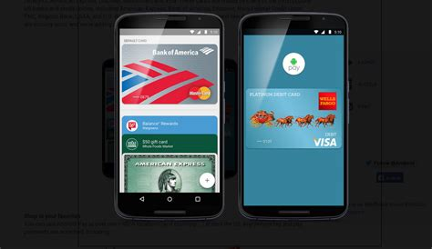 android pay app android pay begins rolling out across the us the american bazaar
