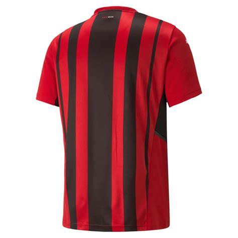replica puma ac milan home soccer jersey