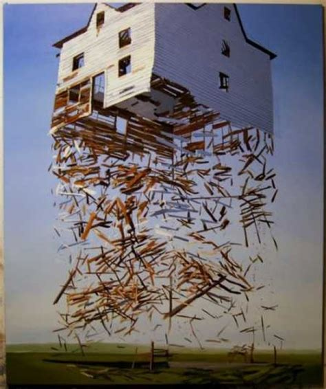 architectural paintings exploded structures e morfes