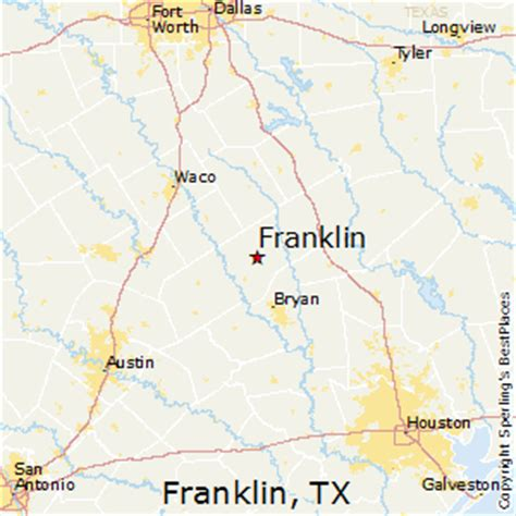 franklin texas map best places to live in franklin texas