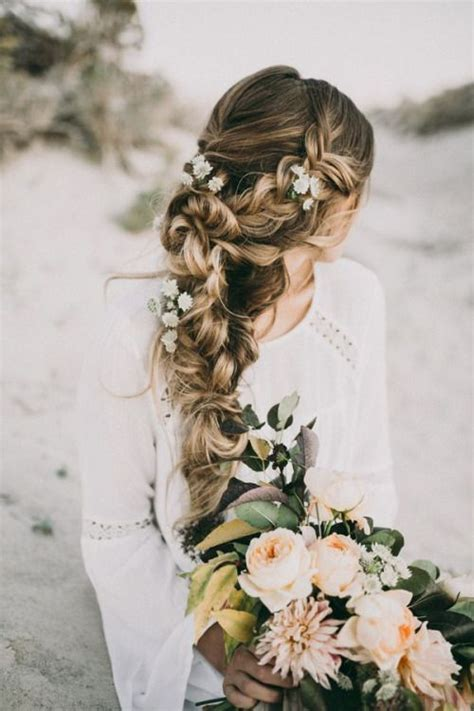 Boho Wedding Hairstyles by 25 Best Ideas About Bohemian Wedding Hair On