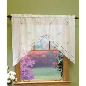 Kitchen Curtains At Sears Kitchen Curtains And Swags And Valances From Sears