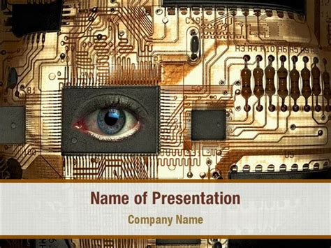 Digital Eye Powerpoint Templates Digital Eye Powerpoint Image Processing Ppt Slides Free