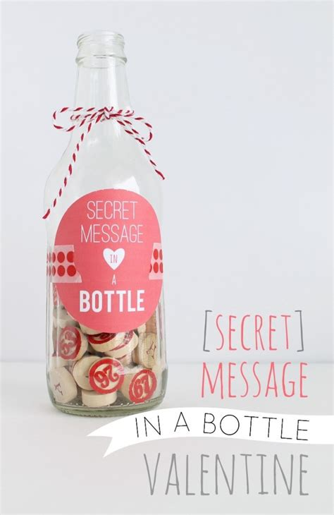 message in a bottle valentines gift 25 lovely diy s day cards and gifts diy