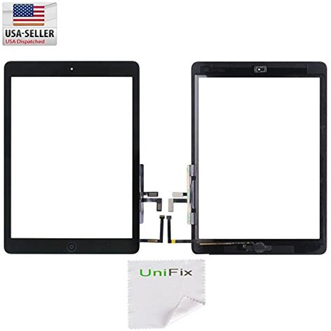 Touchscreen Digitizer Air 5 unifix black touch screen glass digitizer for air 5 with import it all
