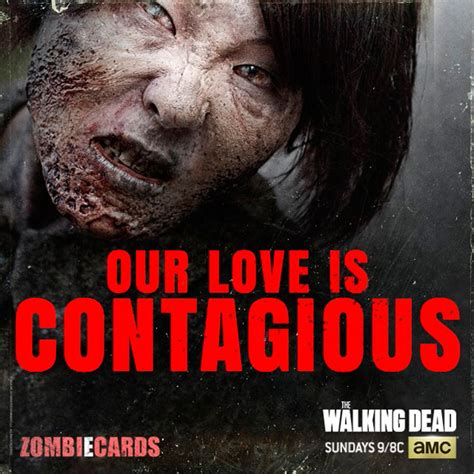 twd valentines the walking dead the walking dead valentine s day