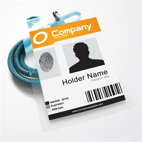 Ohio Id Card Photoshop Template by Company Id Template Psd 171 Coldfiredsgn