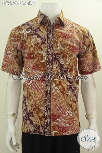 Jual Baju Buat jual baju hem batik keren halus dan istimewa cocok untuk kerja dan pesta berbahan adem motif