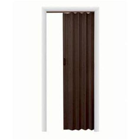 Vinyl Accordion Doors spectrum oakmont vinyl espresso accordion door ok3680es