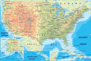 united states map geography us maps with states