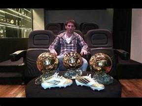 leo messi's house with photos