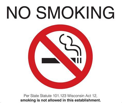 no smoking signs health act 2006 zig1882s wisconsin no smoking signs
