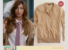 WornOnTV: Gina's floral neck tie, brown cardigan and ... White Iphone 5 Case