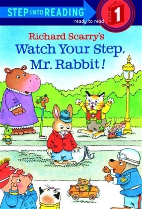 whereã s your hair books richard scarry s your step mr rabbit by richard