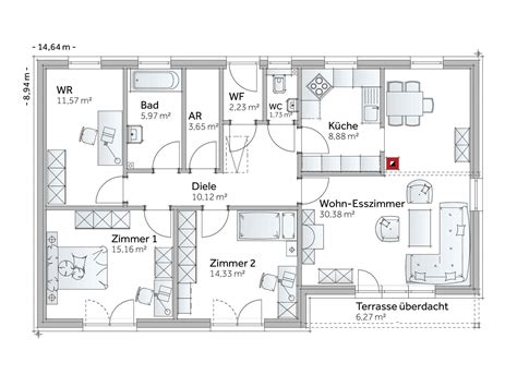 Fertighaus Mit 5 Schlafzimmern by Fertighaus Bungalow Family Vii Vario Haus Fertigteilh 228 User
