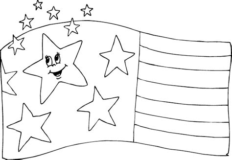 coloring pages usa flag coloring page of usa flag