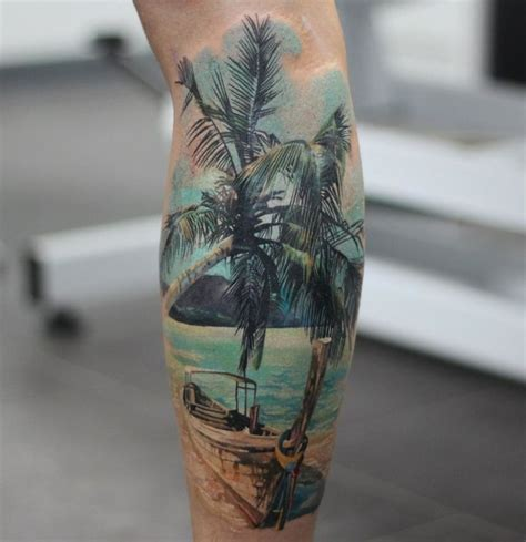 29 palms tattoo 252 best tropical tattoos images on palm