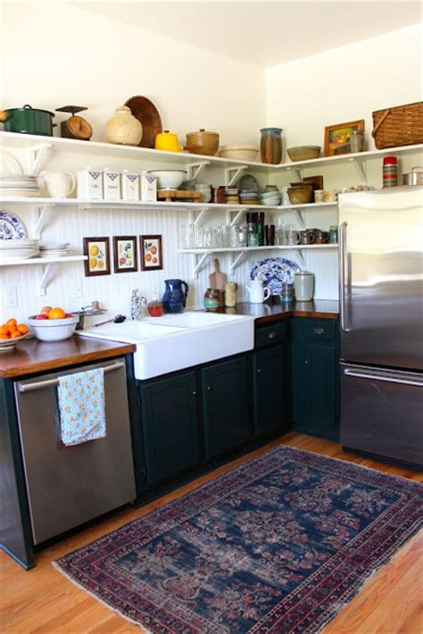 small kitchen sink rugs a gray put a worn rug in your kitchen now