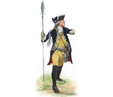 Hessian officer lieb infantry regiment 1776 revolutionary war