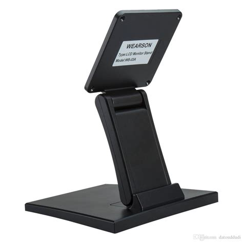 adjustable monitor stands for desk wearson adjustable lcd monitor stand mount folding vesa