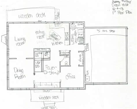 plan my room schematic rough floor plan w sketched details sidney