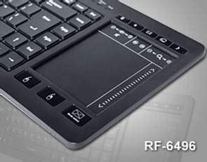 I Rocks Rf 6496 Wireless i rocks的rf 6496鍵盤 具備觸控板機能