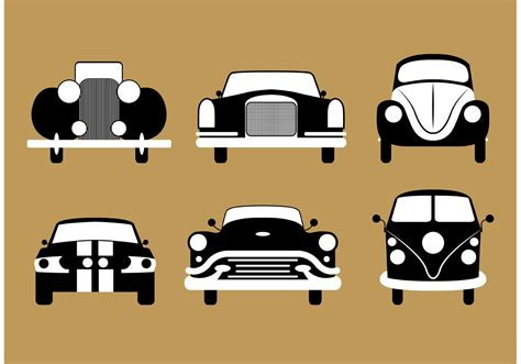 retro cer vintage car vectors download free vector art stock