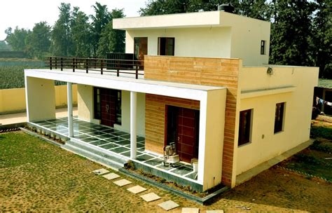 Small House Designs In Delhi Chattarpur Farm House Indian Residence E Architect