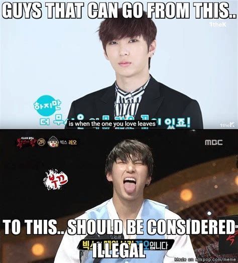 Meme Comic Kpop illegally vixx s leo allkpop meme center k pop