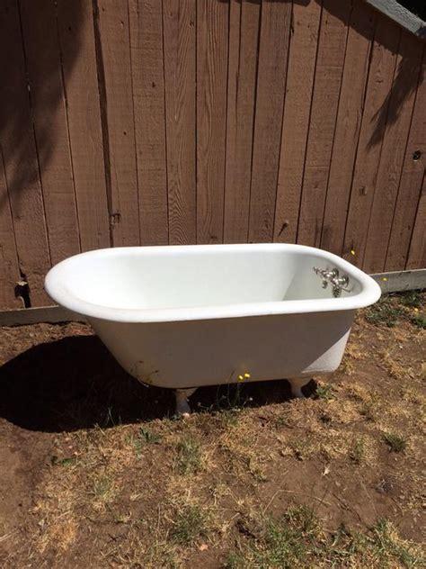 4ft bathtubs 4ft 6 quot cast iron claw foot bathtub west shore langford