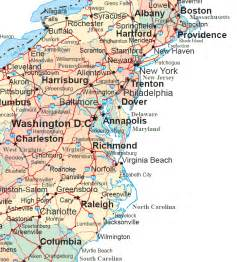 map of mid east coast usa map of east coast usa atlantic city