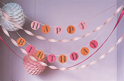 How To Make A Happy Birthday Banner Of Paper - birthday banner template 23 free psd eps in design