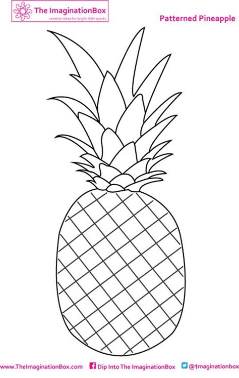 pineapple template 27 best images about pineapples on white