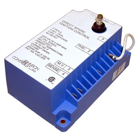 defective capacitor in the spark module johnson controls 720bad 2 equivalent 24v direct spark ignition module
