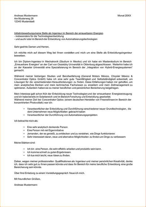 Bewerbung Vertriebsingenieur Beispiel 11 Initiativbewerbung Musteranschreiben Sponsorshipletterr