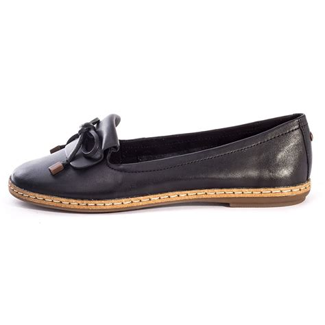 loafers in black hush puppies adena piper womens loafers in black