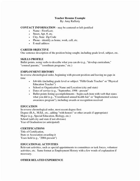 resume format 2018 india 11 beautiful indian school resume format resume