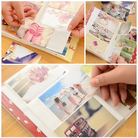 How To Make A Paper Photo Album - creative simple insert diy photo album paper crafts