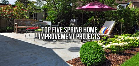 top 5 home improvement projects budget dumpster