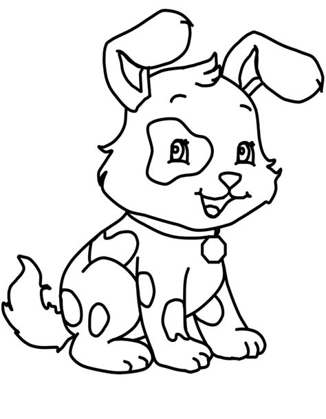 coloring pages of little dogs a very cute little dog coloring page dog coloring pages