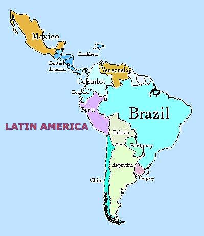 map of central and south america with capitals in map of central and south america with capitals in
