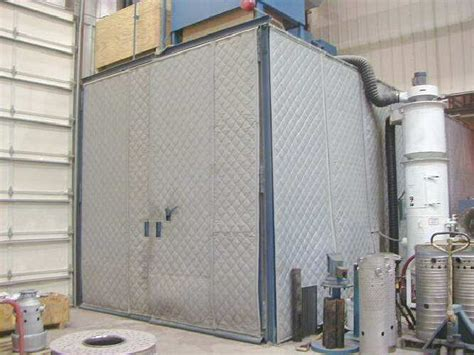 industrial noise control curtains soundproofing blankets in plant
