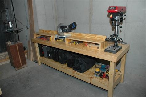miter bench saw drill press table by will stokes lumberjocks com