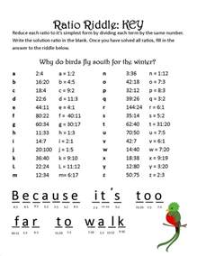 ratio picture worksheets images