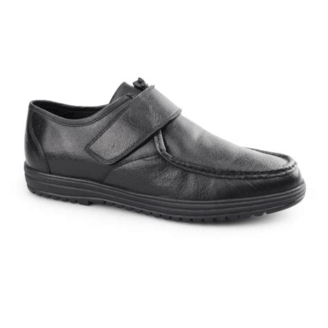 Dr Kevin Leather Boot Shoes 1044 Black dr keller kevin mens leather touch fasten shoes black shuperb