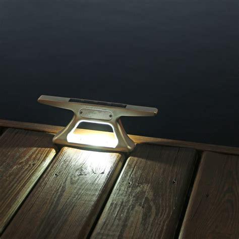 solar dock post lights rectangle solar dock post lights mc docks