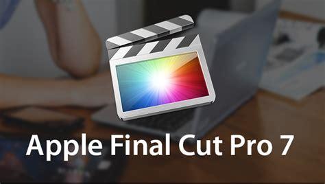 final cut pro dmg apple final cut pro 7 software